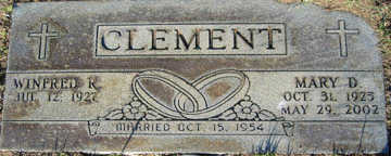 CLEMENT, MARY D - Mohave County, Arizona | MARY D CLEMENT - Arizona Gravestone Photos