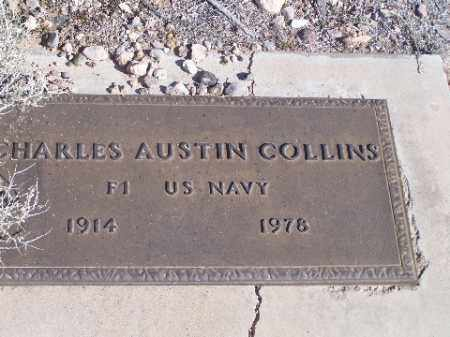 COLLINS, CHARLES AUSTIN - Mohave County, Arizona | CHARLES AUSTIN COLLINS - Arizona Gravestone Photos