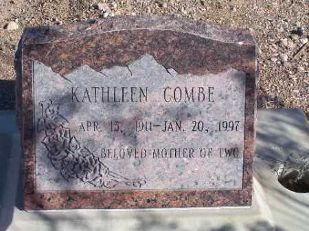 COMBE, KATHLEEN - Mohave County, Arizona | KATHLEEN COMBE - Arizona Gravestone Photos
