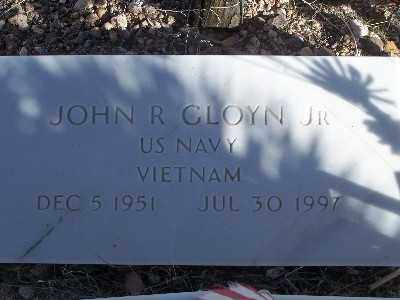 GLOYN, JOHN R - Mohave County, Arizona | JOHN R GLOYN - Arizona Gravestone Photos