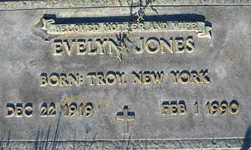 JONES, EVELYN - Mohave County, Arizona | EVELYN JONES - Arizona Gravestone Photos