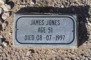 JONES, JAMES - Mohave County, Arizona   JAMES JONES - Arizona Gravestone Photos