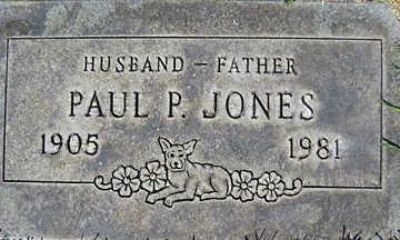 JONES, PAUL P - Mohave County, Arizona | PAUL P JONES - Arizona Gravestone Photos