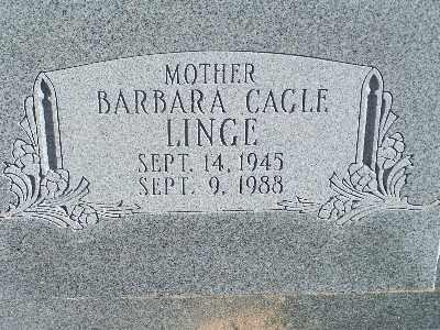LINGE, BARBARA - Mohave County, Arizona | BARBARA LINGE - Arizona Gravestone Photos