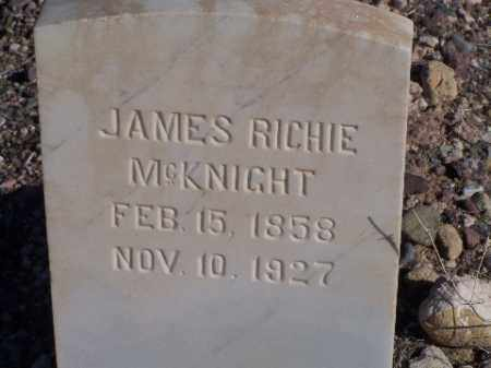 MCKNIGHT, JAMES RICHIE - Mohave County, Arizona | JAMES RICHIE MCKNIGHT - Arizona Gravestone Photos