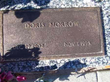 MORROW, DORIS - Mohave County, Arizona | DORIS MORROW - Arizona Gravestone Photos