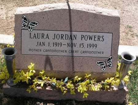POWERS, LAURA JORDAN - Mohave County, Arizona   LAURA JORDAN POWERS - Arizona Gravestone Photos