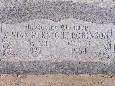 ROBINSON, VIVIAN - Mohave County, Arizona | VIVIAN ROBINSON - Arizona Gravestone Photos