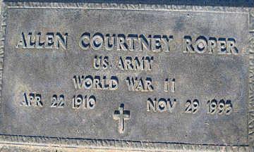 ROPER, ALLEN COURTNEY - Mohave County, Arizona   ALLEN COURTNEY ROPER - Arizona Gravestone Photos