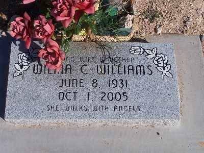 WILLIAMS, WILMA C - Mohave County, Arizona | WILMA C WILLIAMS - Arizona Gravestone Photos