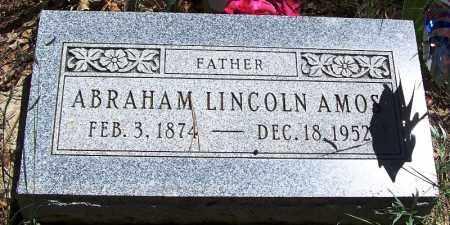 AMOS, ABRAHAM LINCOLN - Navajo County, Arizona | ABRAHAM LINCOLN AMOS - Arizona Gravestone Photos