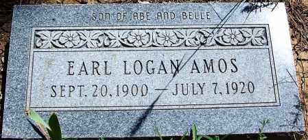 AMOS, EARL LOGAN - Navajo County, Arizona   EARL LOGAN AMOS - Arizona Gravestone Photos