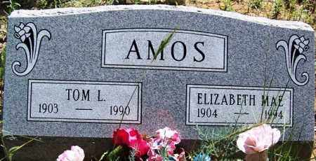 AMOS, THOMAS LAVERN (TOM) - Navajo County, Arizona | THOMAS LAVERN (TOM) AMOS - Arizona Gravestone Photos