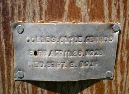 PENROD, COLLES CLYDE - Navajo County, Arizona | COLLES CLYDE PENROD - Arizona Gravestone Photos