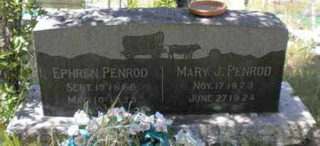 PENROD, MARY JANE - Navajo County, Arizona | MARY JANE PENROD - Arizona Gravestone Photos