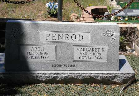 PENROD, MARGARET - Navajo County, Arizona | MARGARET PENROD - Arizona Gravestone Photos