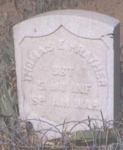 PRATHER, THOMAS E. - Navajo County, Arizona   THOMAS E. PRATHER - Arizona Gravestone Photos