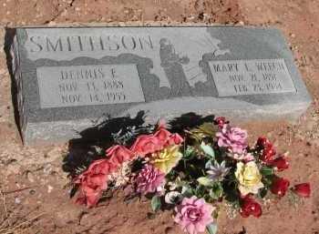 SMITHSON, DENNIS E. - Navajo County, Arizona | DENNIS E. SMITHSON - Arizona Gravestone Photos