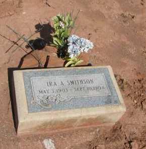 SMITHSON, IRA A. - Navajo County, Arizona | IRA A. SMITHSON - Arizona Gravestone Photos
