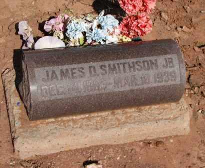 SMITHSON, JAMES D. JR. - Navajo County, Arizona | JAMES D. JR. SMITHSON - Arizona Gravestone Photos