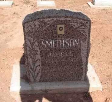 SMITHSON, JAMES D - Navajo County, Arizona | JAMES D SMITHSON - Arizona Gravestone Photos