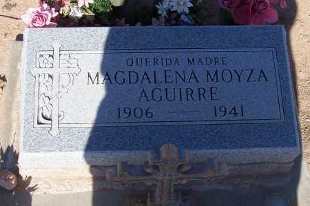 MOYZA AGUIRRE, MADALENA - Pinal County, Arizona   MADALENA MOYZA AGUIRRE - Arizona Gravestone Photos