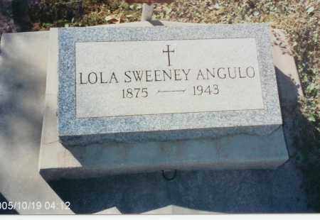 SWEENEY ANGULA, LOLA - Pinal County, Arizona | LOLA SWEENEY ANGULA - Arizona Gravestone Photos