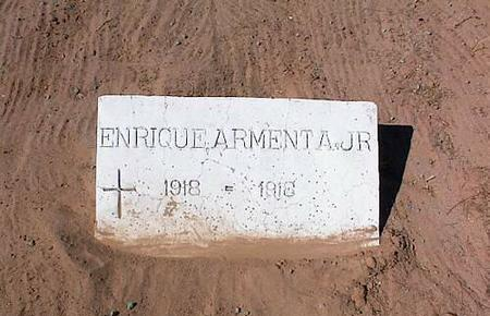 ARMENTA, ENRIQUE, JR. - Pinal County, Arizona | ENRIQUE, JR. ARMENTA - Arizona Gravestone Photos