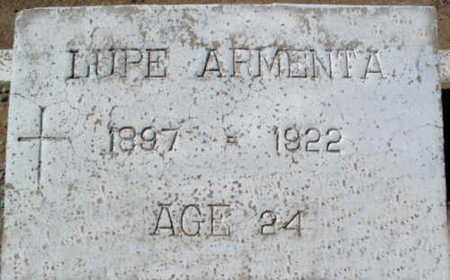ARMENTA, GUADALUPE - Pinal County, Arizona | GUADALUPE ARMENTA - Arizona Gravestone Photos