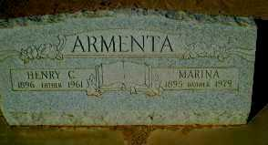 ARMENTA, HENRY CUEN ARMENTA - Pinal County, Arizona   HENRY CUEN ARMENTA ARMENTA - Arizona Gravestone Photos