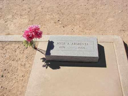 ARMENTA, JOSE A. - Pinal County, Arizona | JOSE A. ARMENTA - Arizona Gravestone Photos