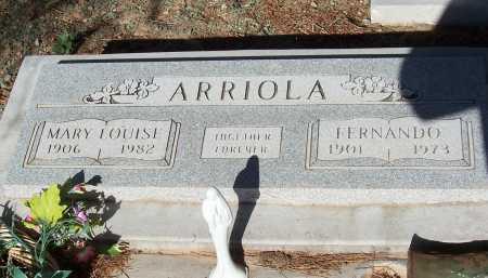 ARRIOLA, MARY LOUISE - Pinal County, Arizona | MARY LOUISE ARRIOLA - Arizona Gravestone Photos