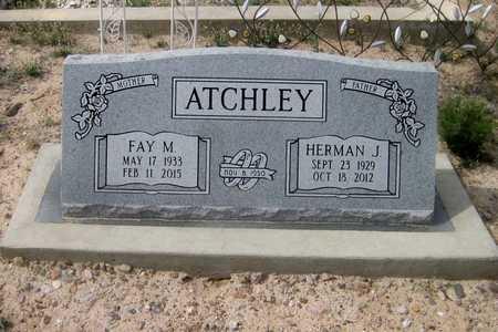 SMITH ATCHLEY, FAY MAREE - Pinal County, Arizona   FAY MAREE SMITH ATCHLEY - Arizona Gravestone Photos