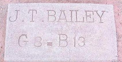 BAILEY, J. T. - Pinal County, Arizona | J. T. BAILEY - Arizona Gravestone Photos