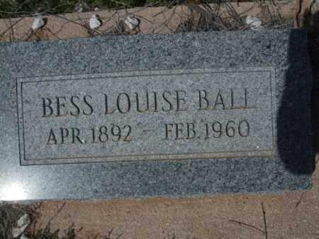 BALL, BESS LOUISE - Pinal County, Arizona   BESS LOUISE BALL - Arizona Gravestone Photos