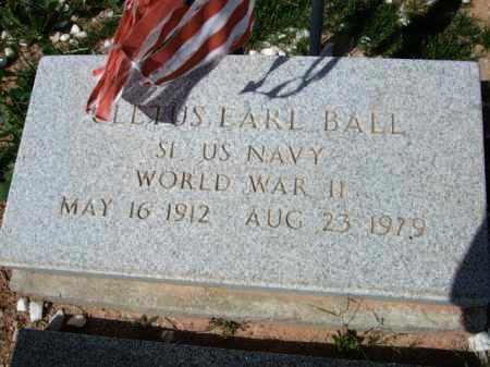 BALL, CLETUS EARL - Pinal County, Arizona   CLETUS EARL BALL - Arizona Gravestone Photos