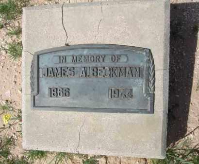 BECKMAN, JAMES A. - Pinal County, Arizona | JAMES A. BECKMAN - Arizona Gravestone Photos