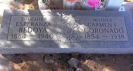 CORONADO, CARMEN F. - Pinal County, Arizona   CARMEN F. CORONADO - Arizona Gravestone Photos