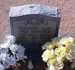 BELL, LEE ROY - Pinal County, Arizona | LEE ROY BELL - Arizona Gravestone Photos