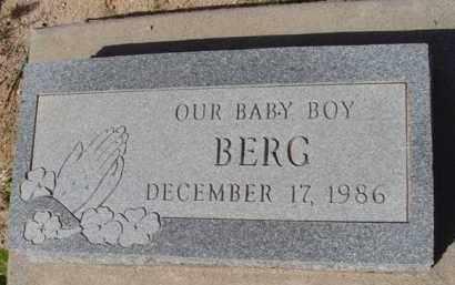 BERG, BABY BOY - Pinal County, Arizona | BABY BOY BERG - Arizona Gravestone Photos