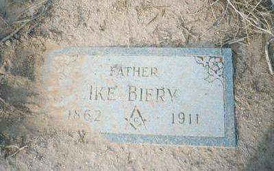 BIERY, IKE - Pinal County, Arizona | IKE BIERY - Arizona Gravestone Photos