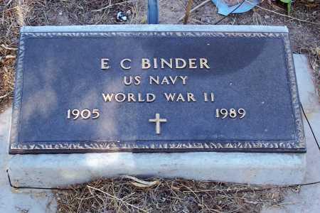 BINDER, E. C. - Pinal County, Arizona | E. C. BINDER - Arizona Gravestone Photos