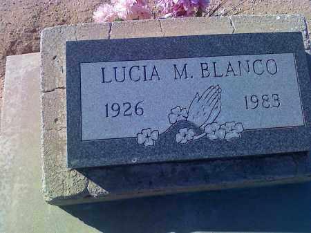 BLANCO, LUCIA M - Pinal County, Arizona   LUCIA M BLANCO - Arizona Gravestone Photos