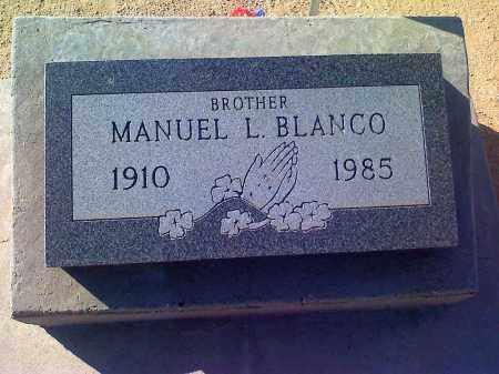 BLANCO, MANUEL L - Pinal County, Arizona | MANUEL L BLANCO - Arizona Gravestone Photos