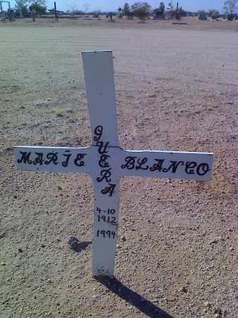 BLANCO, MARIE GUERA - Pinal County, Arizona | MARIE GUERA BLANCO - Arizona Gravestone Photos