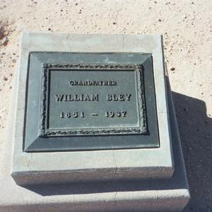 BLEY, WILLIAM - Pinal County, Arizona | WILLIAM BLEY - Arizona Gravestone Photos