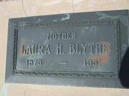 BLYTHE, LAURA H. - Pinal County, Arizona   LAURA H. BLYTHE - Arizona Gravestone Photos