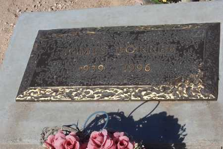 BORREE, JAMES - Pinal County, Arizona | JAMES BORREE - Arizona Gravestone Photos