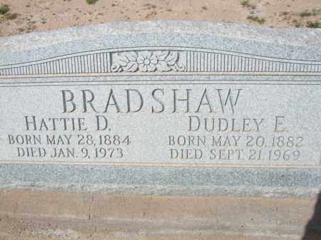 BRADSHAW, DUDLEY E. - Pinal County, Arizona   DUDLEY E. BRADSHAW - Arizona Gravestone Photos
