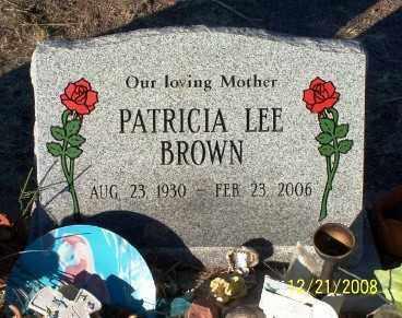 BROWN, PATRICIA LEE - Pinal County, Arizona | PATRICIA LEE BROWN - Arizona Gravestone Photos
